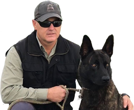 Scott Donald, owner of AllDogs Security